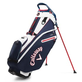 Callaway Fairway Double Strap Stand Bag, navy/red