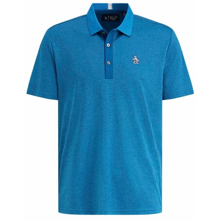 Original Penguin Mens Birdseye Block Polo Shirt