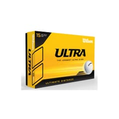 Wilson Ultra Ultimate Distance Golf Balls (15 Balls)